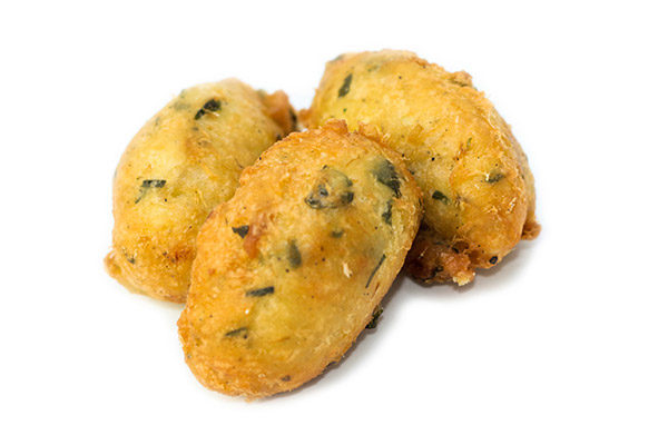 Produto - Pasteis de Bacalhau